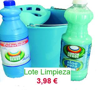 lote-limpieza Limpieza y Desinfección Kit Básico