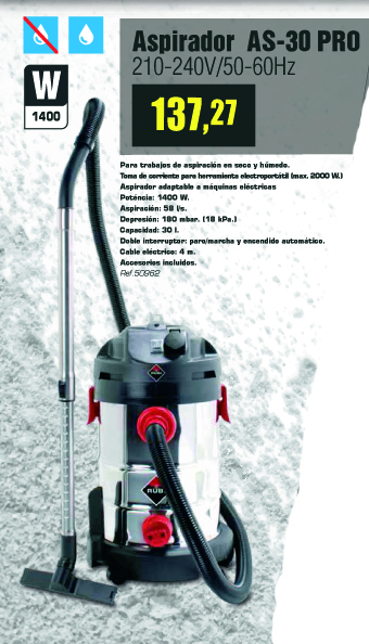 aspirador-rubi01 Ofertas Productos Rubí