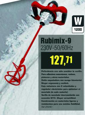 mezcladora-rubi01 Ofertas Productos Rubí